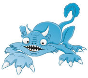 Cartoon funny monster. Royalty Free Stock Photos