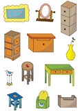 Cartoon furniture icon Royalty Free Stock Photos