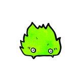 Cartoon furry little monster Stock Images