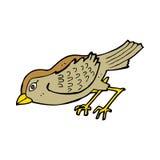 Cartoon garden bird Royalty Free Stock Photos