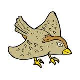 Cartoon garden bird Stock Photography