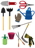 Cartoon gardening icon Royalty Free Stock Photos