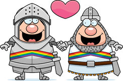 Cartoon Gay Knight Stock Photos