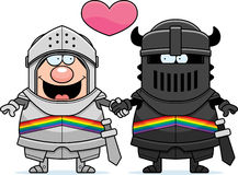 Cartoon Gay Knight Royalty Free Stock Images