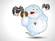 Cartoon Ghost Royalty Free Stock Photo