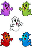 Cartoon Ghost Character Royalty Free Stock Photo