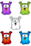 Cartoon Ghost Character Royalty Free Stock Photos