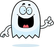 Cartoon Ghost Idea Royalty Free Stock Images