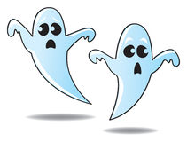 Cartoon Ghosts Royalty Free Stock Photos