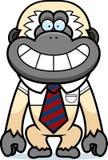 Cartoon Gibbon Tie Royalty Free Stock Photography