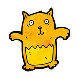Cartoon ginger cat Royalty Free Stock Image