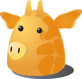 Cartoon giraffe Stock Image