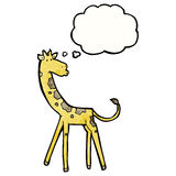 Cartoon giraffe Royalty Free Stock Photos