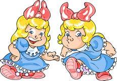 Cartoon Girl Royalty Free Stock Image