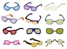 Cartoon Glasses icon Stock Images