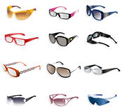 Cartoon Glasses icon Stock Photo