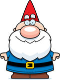Cartoon Gnome Smiling Royalty Free Stock Photos