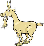 Cartoon goat stock illustration