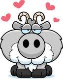 Cartoon Goat Love stock illustration