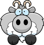 Cartoon Goat Peeking stock illustration