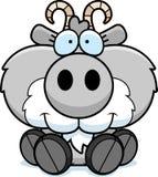 Cartoon Goat Sitting vector illustration