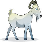 Cartoon goat Royalty Free Stock Image