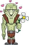 Cartoon Goblin Flower Stock Photography