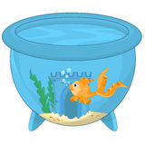 Cartoon Gold Fish Royalty Free Stock Image