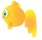 Cartoon goldfish Royalty Free Stock Photography