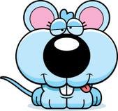 Cartoon Goofy Baby Mouse Royalty Free Stock Photo
