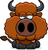 Cartoon Goofy Buffalo Stock Images