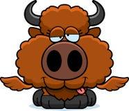 Cartoon Goofy Buffalo Wings Royalty Free Stock Photography