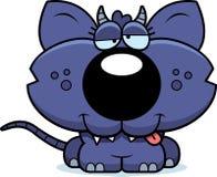 Cartoon Goofy Chupacabra Stock Photo