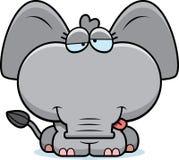 Cartoon Goofy Elephant Royalty Free Stock Images