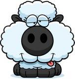 Cartoon Goofy Lamb Stock Photography