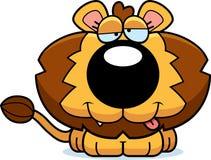 Cartoon Goofy Lion Cub Stock Image