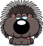 Cartoon Goofy Porcupine Stock Photo