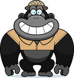 Cartoon Gorilla Safari Stock Photo
