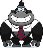 Cartoon Gorilla Tie Royalty Free Stock Photography