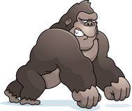 Cartoon Gorilla Walking Stock Image