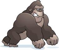 Cartoon Gorilla Walking Stock Image