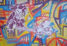 Cartoon Graffiti Stock Images