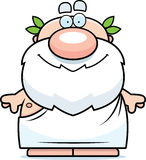 Cartoon Greek Philosopher Royalty Free Stock Images