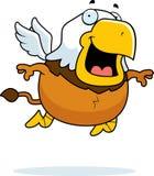 Cartoon Griffin Flying royalty free illustration