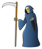 Cartoon Grim Reaper Stock Photos