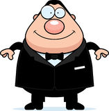 Cartoon Groom Smiling Royalty Free Stock Photography