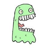 Cartoon gross ghost Royalty Free Stock Image