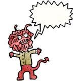 Cartoon gross monster Stock Image