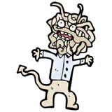 Cartoon gross monster Royalty Free Stock Photos