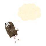 Cartoon gross severed head Royalty Free Stock Photos